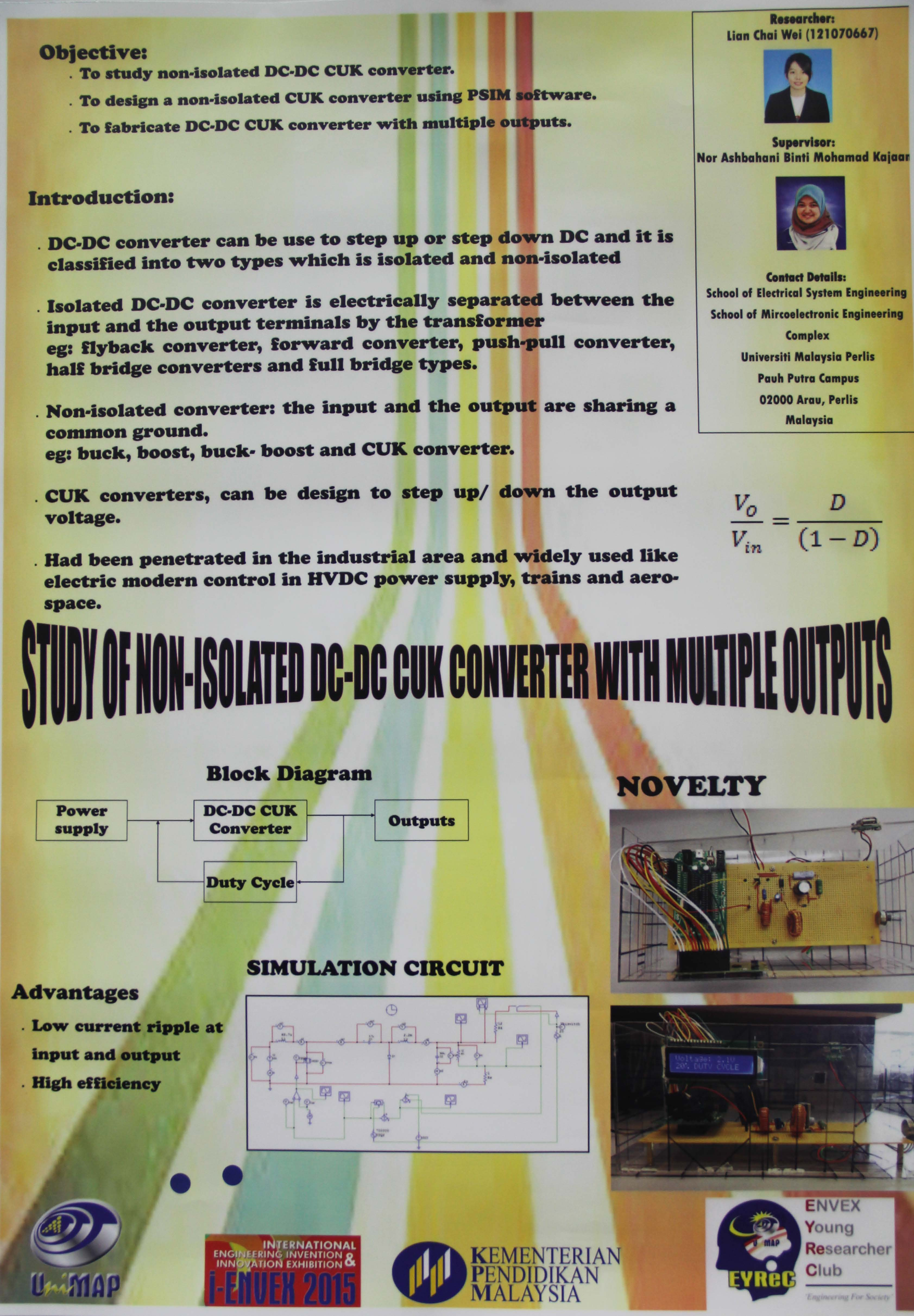 Study Of Non Isolated Cd Dc Cuk Converter With Multiple Outputs Multi Output To Files In This Item